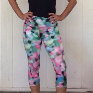 ADIDAS CROP WORKOUT LEGGINGS